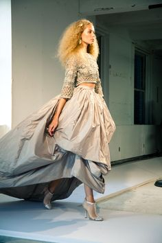 """Oscar de la Renta presented a gorgeous collection! These beautiful photographs are from Jamie Beck """"From Me To You"""" ~ Jessica Quirk """"What I Wore"""" and New York Fashion."""