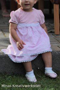 Kinderkleid/Klimperklein Balerina Puschen/Klimperklein