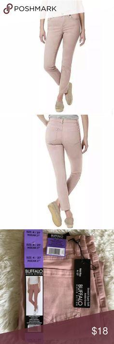 NEW! Buffalo Jeans Women/'s Mid-Rise Stretch Skinny Ankle Grazer White Sz 6 Sz 8