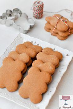 Pierniki Katarzynki Polish Recipes, Polish Food, Vegan Recipes, Cooking Recipes, Sweet Bakery, Cookie Box, Cake Cookies, Food Photo, Gingerbread Cookies