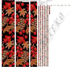 Beaded beads tutorials and patterns, beaded jewelry patterns, wzory bizuterii koralikowej, bizuteria z koralikow - wzory i tutoriale Bead Crochet Patterns, Bead Crochet Rope, Peyote Patterns, Beading Patterns, Crochet Beaded Bracelets, Beaded Necklace Patterns, Beaded Crafts, Bracelet Patterns, Seed Bead Flowers