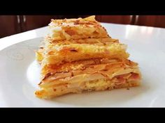 ΕΥΚΟΛΗ ΠΑΤΣΑΒΟΥΡΟΠΙΤΑ!! - YouTube Cookbook Recipes, Cooking Recipes, Onion Rings, Greek Recipes, Apple Pie, Macaroni And Cheese, Waffles, Breakfast, Ethnic Recipes