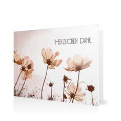 Dankeskarte Kleiner Garten in Antikrosa - Klappkarte flach #Trauer #Danksagungskarten https://www.goldbek.de/trauer/danksagungskarten/dankeskarte-kleiner-garten?color=antikrosa&design=20f7b