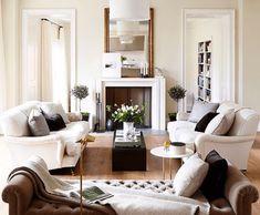 Copy Cat Chic Room Redo | Classic Luxe Living Room