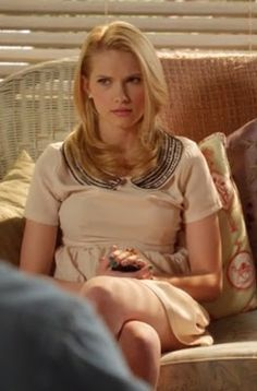 """Magnolia's Forever 21 Beaded Collar A Line Dress """"Hart of Dixie"""" Season 2, Episode 21: """"I'm Moving On"""""""