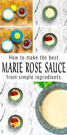 This Marie Rose is made with pantry staples, but the result is so delicious and versatile. You can't tell it is vegan and it is ready in under 5 minutes. #vegan #dairyfree #contentednesscooking #dinner #lunch #mealprep #marierosesauce #cocktailsauce