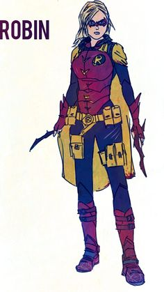 Stephanie Brown Robin by batlad on DeviantArt Batgirl And Robin, Dc Batgirl, Batwoman, Nightwing, Tim Drake Red Robin, Robin Dc, Arte Dc Comics, Batman Comics, Stephanie Brown Robin