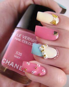 Chanel May, Illamasqua Load, and China Glaze Kinetic Candy