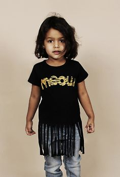 Retro Meow 80s T-shirt! from the Autumn/Winter 12 Mini Rodini Collection