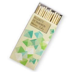 Packing design // mineral matches