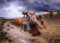 "Le Moindre Épi..."" Alfred Guillou /Альфред Гийю (1844 – 1926)"
