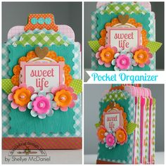 Sweet Life Pocket Organizer by Shellye McDaniel for Doodlebug Design