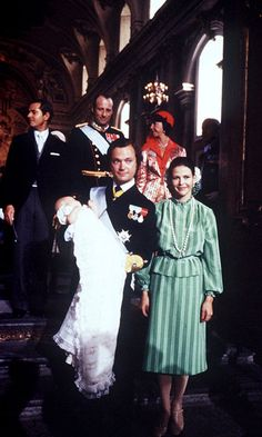 Princess Victoria was christened in the royal palace's chapel on Sept. 27 1977.