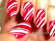 Easy Christmas Nail Designs - Bing Images