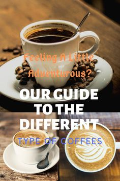 Feeling a little adventurous? Our guide to the different type of coffees Coffee Ice Cream, Coffee Milk, Coffee Type, Coffee Creamer, Coffee Pods, Coffee Shop, Hot Coffee, Types Of Coffee Beans, Different Types Of Coffee