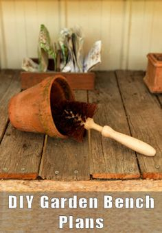 15+ Potting Bench Plans: {Free DIY Projects & Tips}