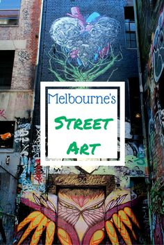 Street Art in Melbourne, at Hosier Lane and Union Lane. The most creative place in Melbourne. Australia Honeymoon, Australia Travel Guide, Visit Australia, Travel Oz, Travel Tips, Travel Info, Travel Stuff, Places In Melbourne, Melbourne Street