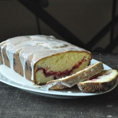 Sour Cream Raspberry Bread