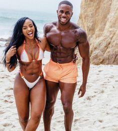 Experts Say Fit Couples That Are Active Together Stay Together – Here's Why – Future Boyfriend - Water Fitness Gym, Black Fitness, Fitness Goals, Mens Fitness, Health Fitness, Black Love Couples, Fit Couples, Fitness Couples, Young Couples