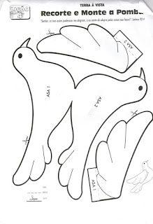 Desenhos de Pombas para colorir! - ESPAÇO EDUCAR