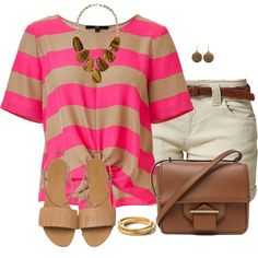 A fashion look from July 2014 featuring t shirts, Mavi y brown purse. Browse and shop related looks.