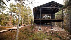 scandinavian retreat.: architecture