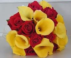 red and yellow wedding - Google Search
