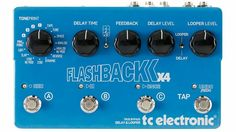 Flashback X4 Delay Pedal.. want this!