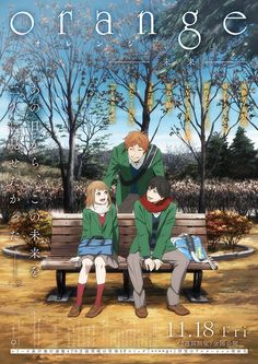 orange anime | Tumblr