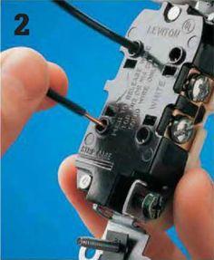 Instalaciones eléctricas residenciales - Inserción de punta de cable en conector a presión
