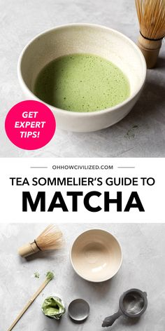 Matcha is a green tea from Japan that's jam-packed with antioxidants. See detailed steps in this post from Oh, How Civilized on how to make this tea properly at home, from a certified Tea Sommelier! #tea #greentea #matcha #teaguide #homemade Hot Tea Recipes, Matcha Benefits, Herbal Teas, Frozen Drinks, Food To Make, Latte, Herbalism, Japan, Homemade