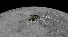 The Origins of Water Ice on Mercury