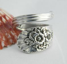 a spoon becomes a ring :) by shawna