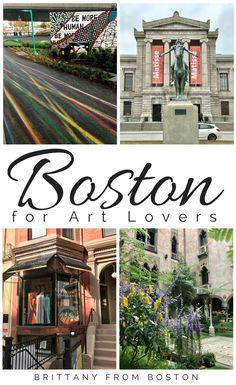 Boston for Art Lovers // Brittany from Boston