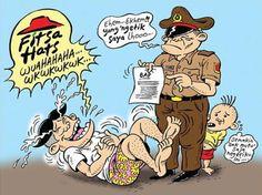 Mice Cartoon: Fitsa Hats -  Karya: Muhammad Misrad -  Sumber: Rakyat Merdeka - 5 Januari 2017