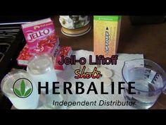 This is great to bring for fit class!!! How to Make Jello Liftoff Shots w/Herbalife