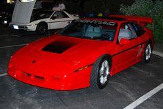 Custom Fiero GT, Fiero Nite at Augustino's Pontiac Fiero Gt, S Car, Workshop, Cars, Cool Bikes, Atelier, Work Shop Garage