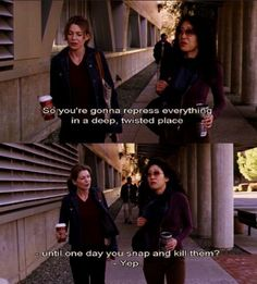 Grey's Anatomy - Meredith Grey and Cristina Yang. After a few nights that izzy and George lived with Meredith Greys Anatomy Funny, Greys Anatomy Facts, Grey Anatomy Quotes, Greys Anatomy Season 1, Grays Anatomy, Grey Quotes, Tv Quotes, Movie Quotes, Nice Quotes