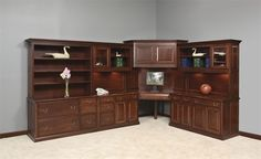 Amish cherry office furniture