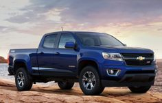 2015 Chevy Colorado Crew Cab. YES PLEASE. don't mind if I do....