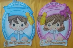 Folder Decorado, Page Borders Design, Graduation Celebration, Precious Moments, Ideas Para, Origami, Diy And Crafts, Minnie Mouse, Projects To Try