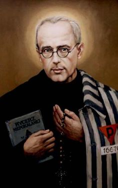 "St. Maximilian Kolbe:  ""No one in the world can change Truth. What we can do and and should do is to seek truth and to serve it when we have found it. The real conflict is the inner conflict. Beyond armies of occupation and the hetacombs of extermination camps, there are two irreconcilable enemies in the depth of every soul: good and evil, sin and love. And what use are the victories on the battlefield if we are ourselves are defeated in our innermost personal selves?"""