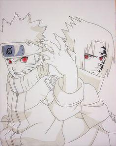 Naruto vs Sasuke by JoJoAsakura on DeviantArt