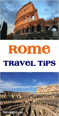 Traveling to Rome Italy?? Here are my family tested Top Rome Italy Travel Tips for spending an amazing week in Rome! Are you ready for an amazing trip?