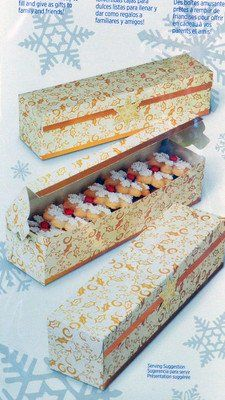 Rectangle Christmas Treat Box Kit
