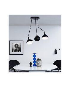 Stanford Roof Lamp 3L - Black - Markslöjd