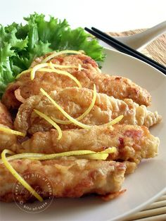 Lemon Chicken Fingers