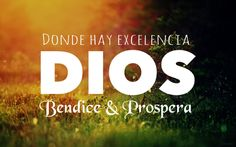 #Prosperar sin #excelencia es #imposible.