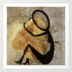 love Art Print by Lamade - $14.56