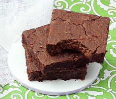 Recipe-a-Licious: No Flour Black Bean Brownies... We made these tonight, I was surprised, they were good!